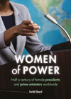 New Book: Women of Power – half a century of female presidents and prime ministers worldwide
