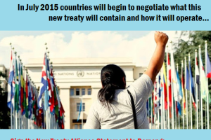 Global movement for a binding treaty to protect human rights from corporate abuse
