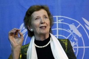 IAW wants Mary Robinson as the next Secretary General of the UN