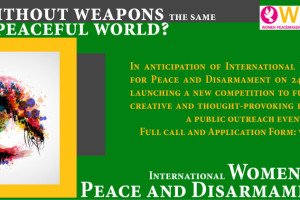 On International Women's Day for Peace and Disarmament