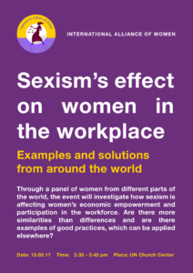 Sexism in the workplace