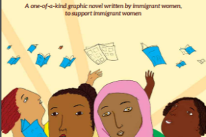 """""""Telling Our Stories: Immigrant Women's Resilience""""."""