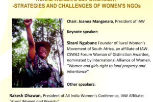 Rural Women's Empowerment – Strategies and Challenges of Women's NGOs